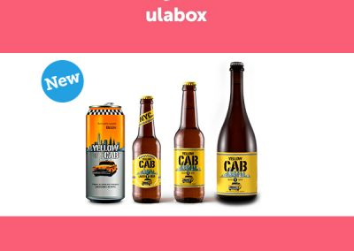 Yellow Cab ya disponible en Ulabox