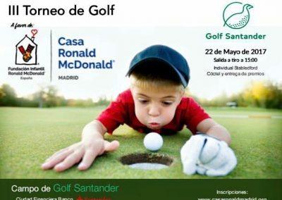 3er Torneo de Golf Casa Ronald McDonald